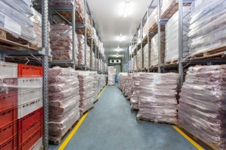 przechowywane mięso na eksport