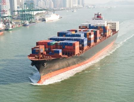 eksport zbóż na statku