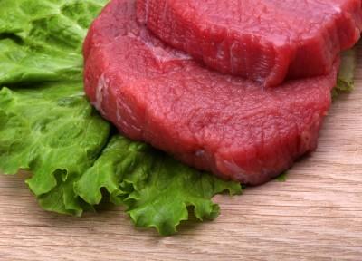 Plastry mięsa wołowwego
