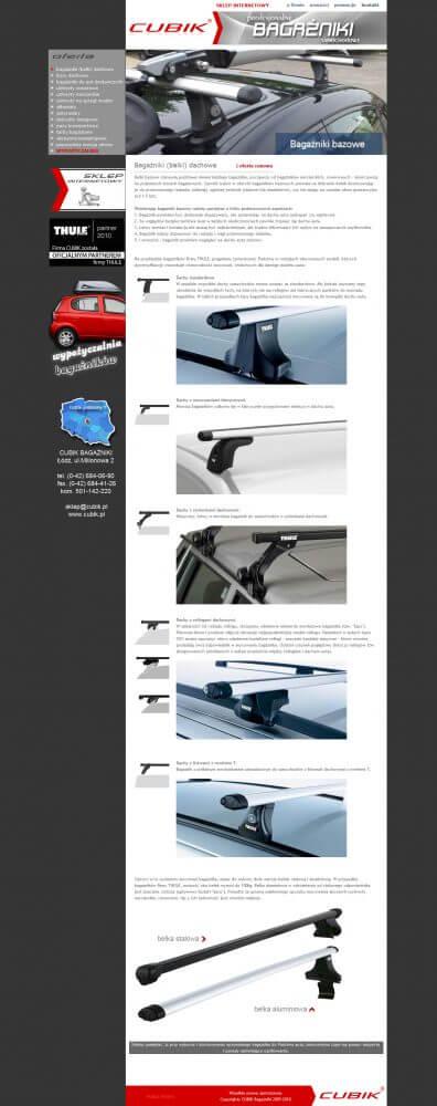 CUBIK | Bagażniki samochodowe