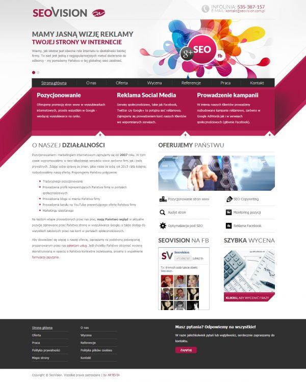 SeoVision | Reklama w Internecie